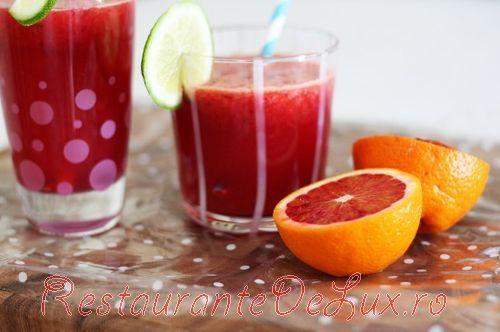 Reteta zilei: Suc de portocale rosii