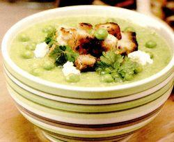 Retete culinare: Supa crema de mazare