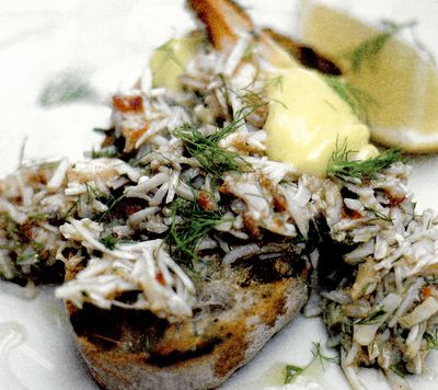 Crostini delicioase de crab