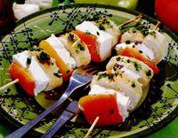 Retete culinare: Frigărui vegetariene