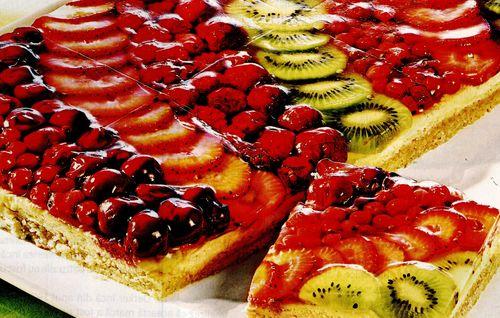 Prajitura delicioasa cu fructe