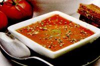 Supa de rosii toscana