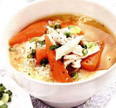 Supă miso de pui cu orez