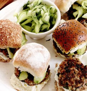 Buseuri de mini burgeri