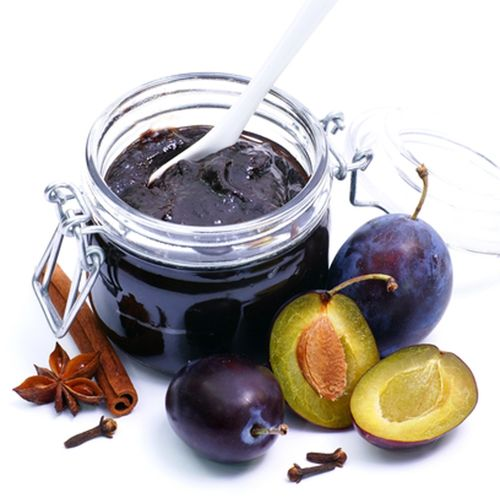 Dulceata de prune cu ciocolata