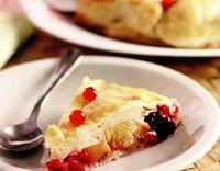 Placinta cu fructe in crusta crocanta