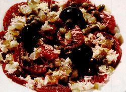 Salata de iarna cu sfecla si capere