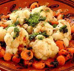 Sote de conopida cu morcovi