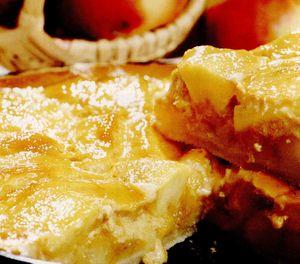 Tarta cu mere si smantana