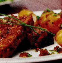 Carne de porc cu cartofi wedges