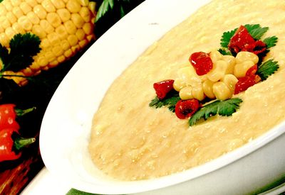 Supa crema cu porumb