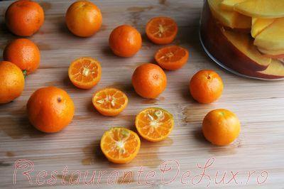 Inele cu bezea si mandarine