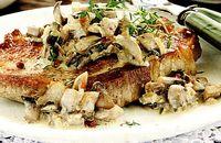 Cotlete de porc cu ciuperci