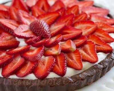 Reteta tarta cu capsuni