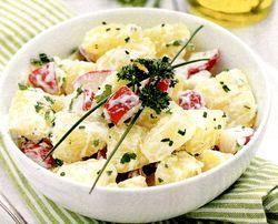 Salata cu peste afumat si maioneza de telina