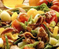 Salata_cu_ton_rosii_si_ceapa_verde