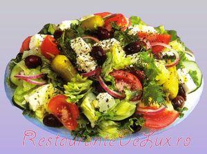 Salata de rosii cu mere si marar