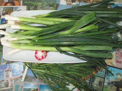 Stufat de usturoi verde
