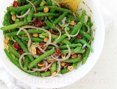 Reteta salata de fasole verde