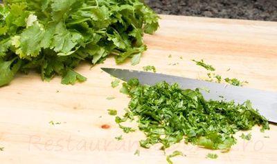 Salata verde umpluta cu carne