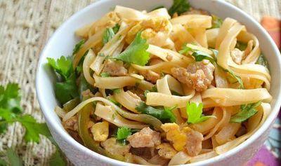 Paste de orez cu legume si branza