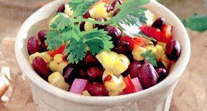 Salata de fasole boabe cu tarhon