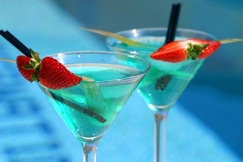 Mocktail cu mere si pere