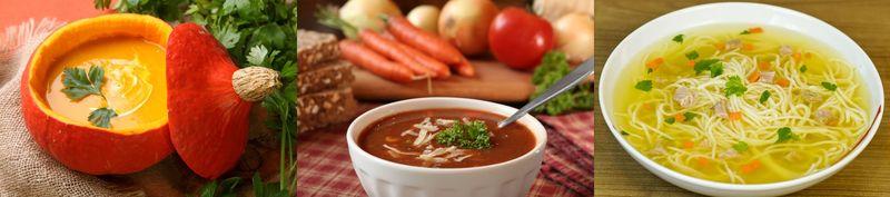 Supa de orez brun cu ghimbir si sos de soia