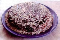 Tort_cu_cafea_vanilie_si_glazura_de_ciocolata