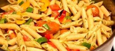 Reteta de paste cu legume