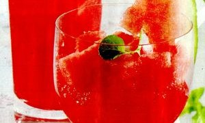 Cocktail_de_pepene_cu_rom_alb_si_menta