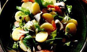 salata cu masline si cartof