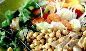 Salata orientala cu naut