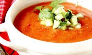 Supa de rosii cu pui