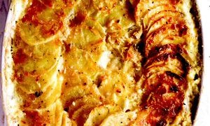 Telina_gratinata_cu_cartofi_si_parmezan
