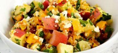 Salata de dovleac cu portocale