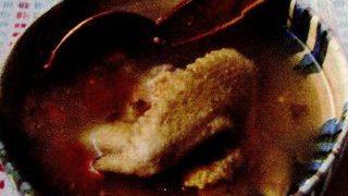 Ciorba de gaina de tara