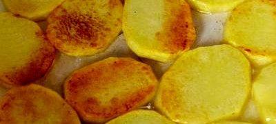 Cartofi dulci rumeniti