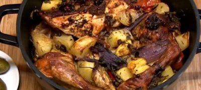 Cum_se_prepara_Pui_taranesc_cu_legume