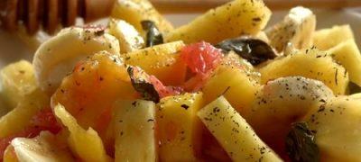 Salata de fructe cu dulceata
