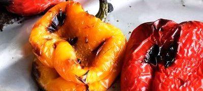 Salata de ardei copt