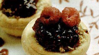 tarte cu cuscus si zmeura