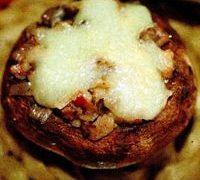 Ciuperci cu praz la cuptor