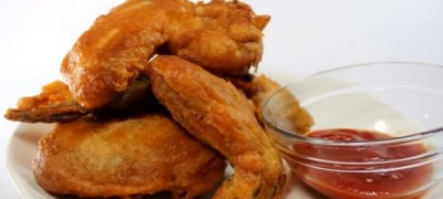 How_to_make_Batter_and_fry_chicken_wings