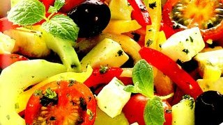 Salata taraneasca de vara