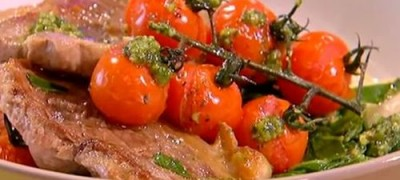 How_to_make_Lamb_steaks_with_pesto_butterbeans