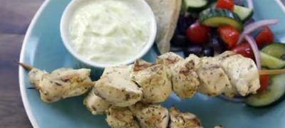 How to Make Chicken Souvlaki