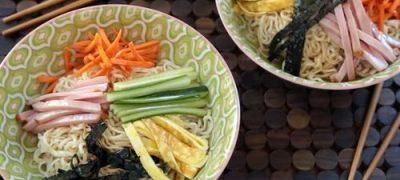 How to Make Hiyashi Chuka Noodles