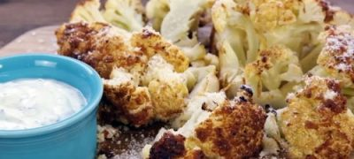 How to Make Sriracha Roasted Cauliflower