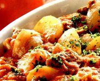 Caserola cu carne si cartofi